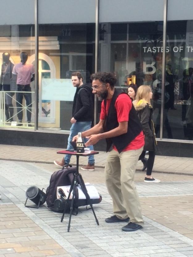 Magician - street entertainer